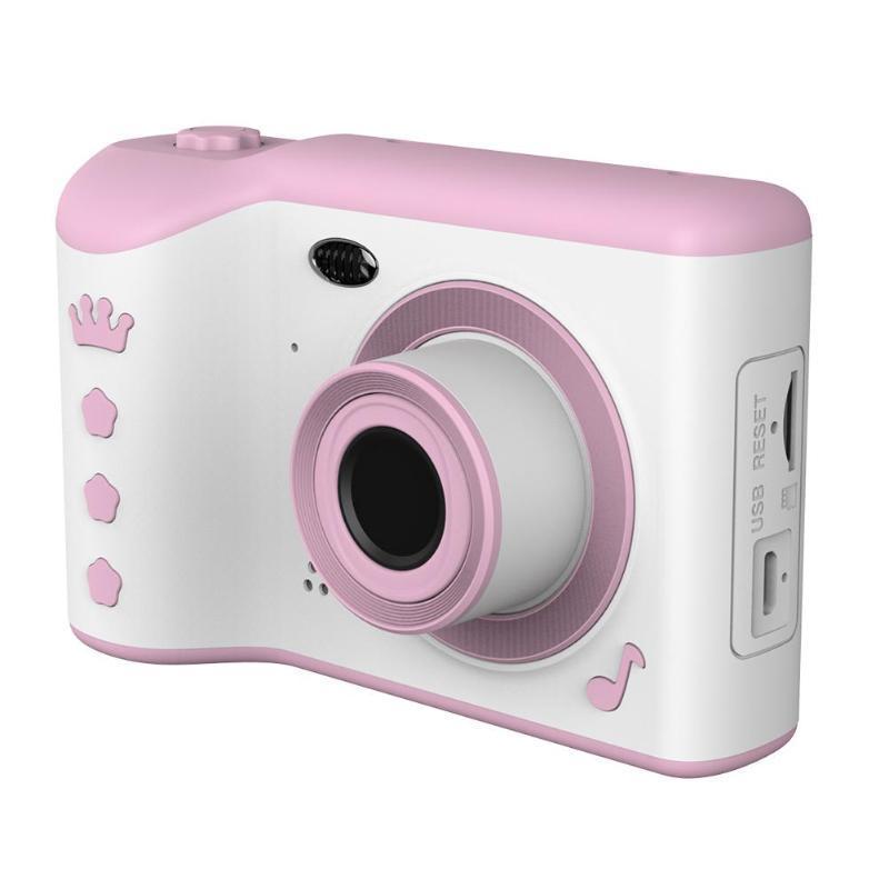 """Crianças Camera 2.8"""" IPS Eye Proteção Digital Camera Tela HD Touch Screen Dual Lens 18MP brinquedos para as crianças"""