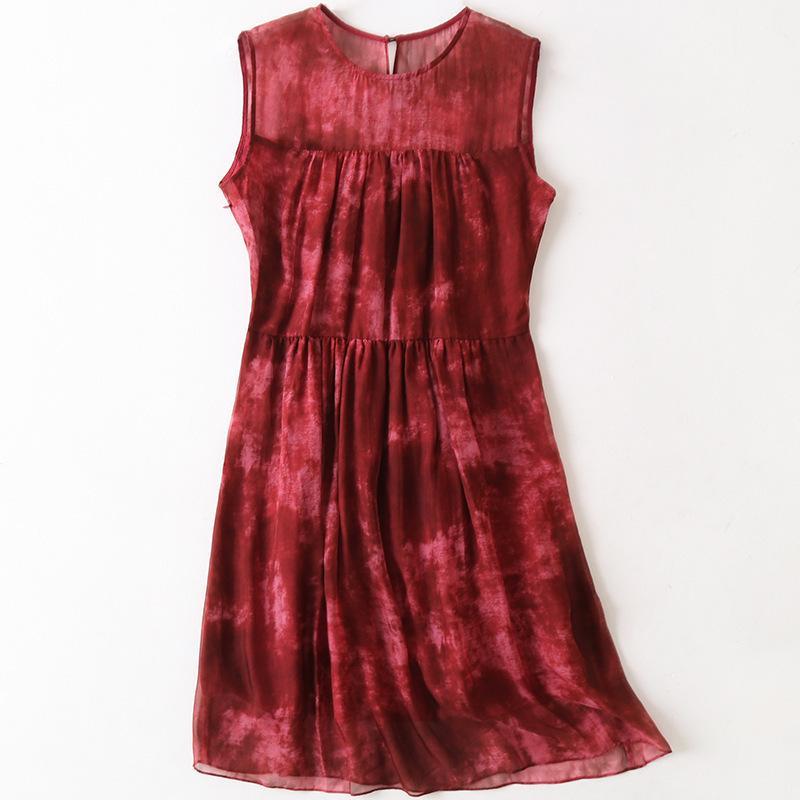 2020 летняя новая весна у женщин моды шелковые дамы одетый досуг ESWF