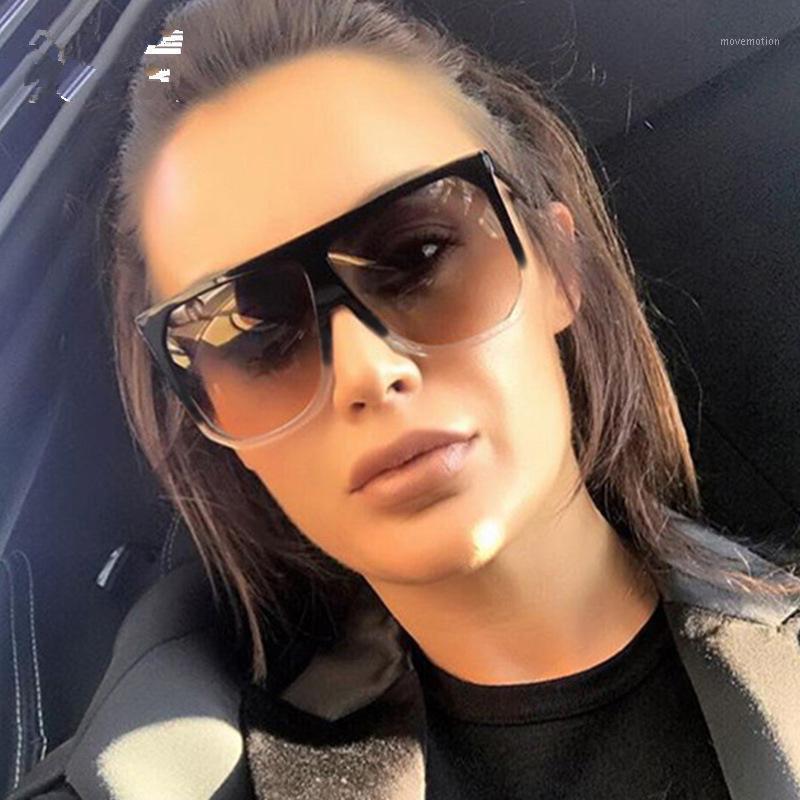 Bayanlar Festivali Büyük Kare 2020 Feminino1 Tasarımcı Marka Moda Boy Sürüş Gözlük Güneş Gözlüğü Büyük Boy TCVCP