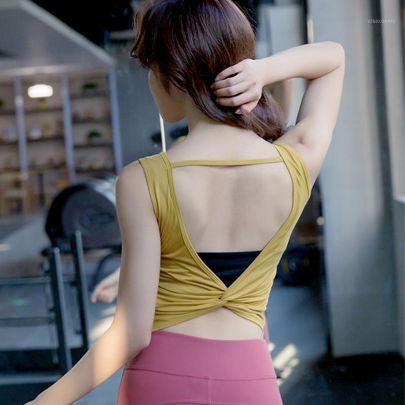 Outfits yoga Zhangyunuo Top Sexy Backbloet Жилет Женщины Фитнес Танк Топы Активные Носить Тренажерный зал Требовые футболки для женщин1