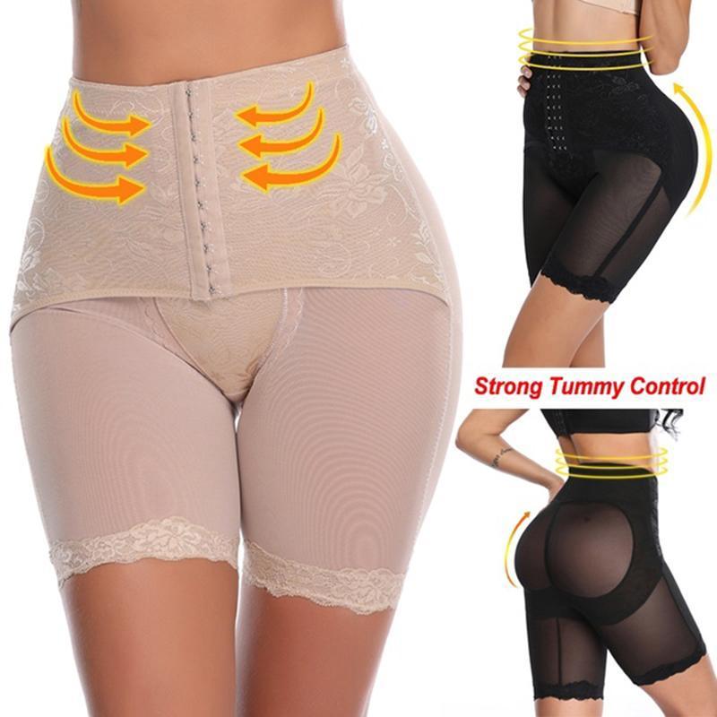 Las mujeres Shapers altura de la cintura de la panza de control de las bragas de los pantalones Breves magia del cuerpo Fajas Señora del corsé que adelgaza la ropa interior BuLifter