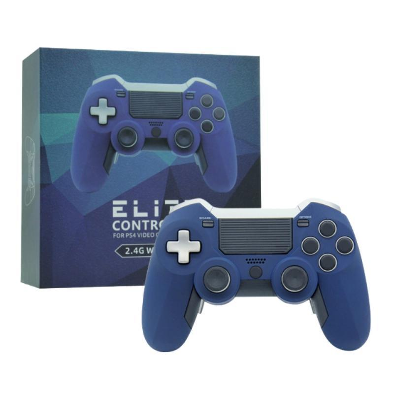 2.4G Wireless Gamepad For Dual Vibration Elite Game Controller Joystick For Ps3 / Pc