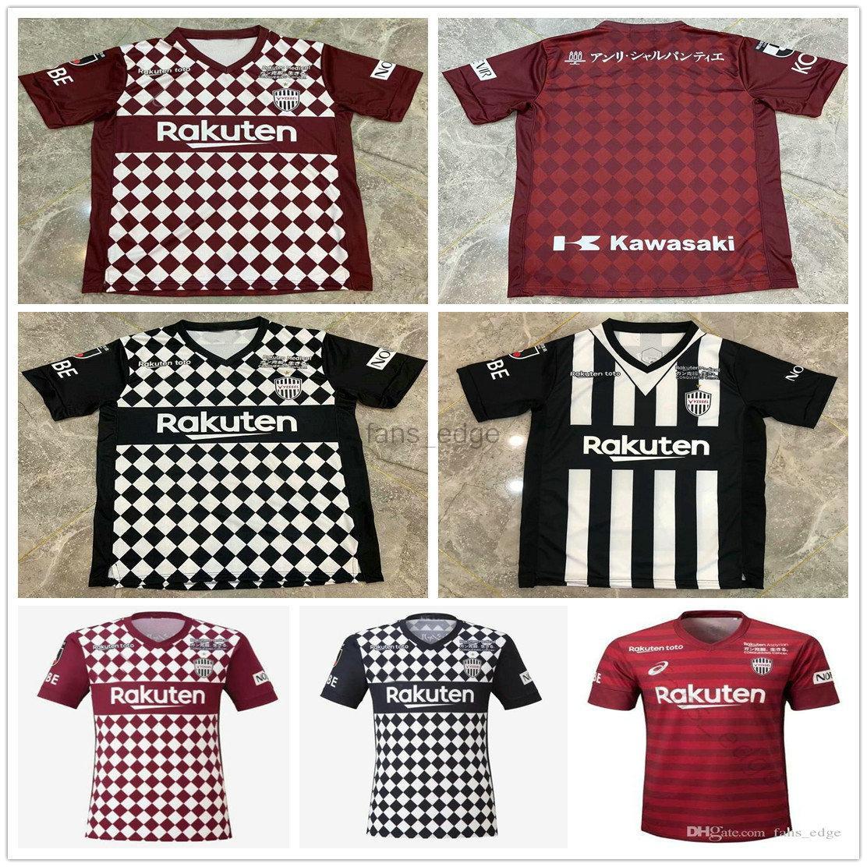 2020 Japão J1 J1 League Vissel Soccer Jersey David Villa A.Iniata Camisas de futebol Podolski Samper Uniforme 20 21 Adulto Camiseta de Iniesta