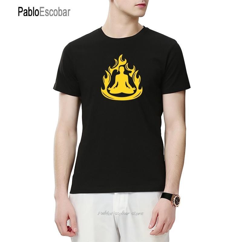 Símbolo do OM Buddha Meditação Budismo Imprimir designers de moletom com capuz Homens Casual manga curta homem Verão marca de roupa t camisas suéter