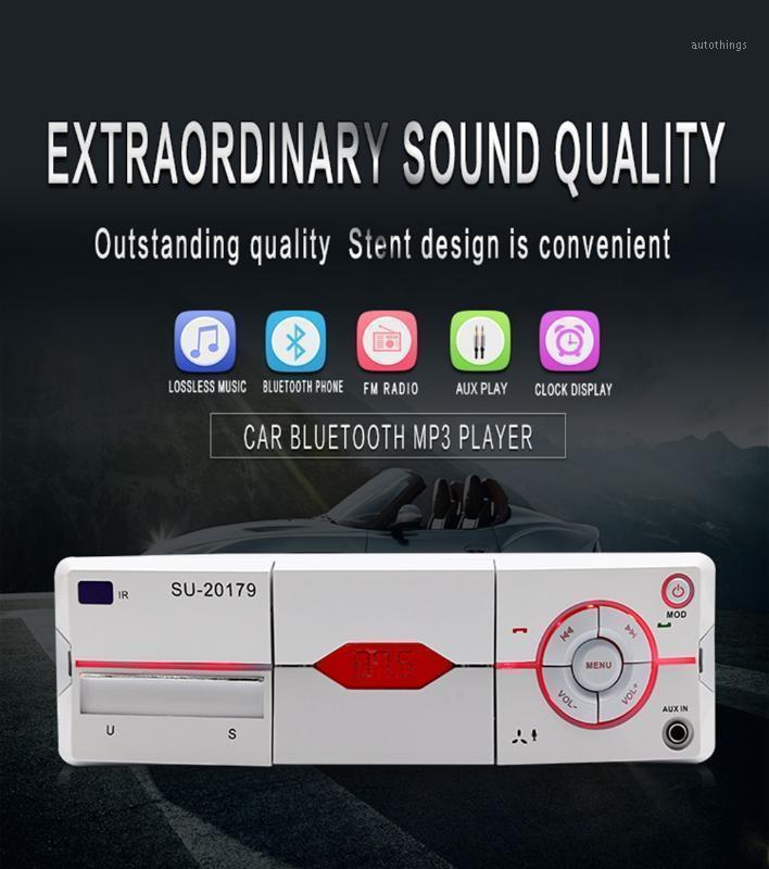 1 DIN 핸즈프리 블루투스 CAY MP3 플레이어 전화 홀더 기능 자동차 스테레오 USB SD AUX FM 수신기 AUTORADIO 무료 배송 1