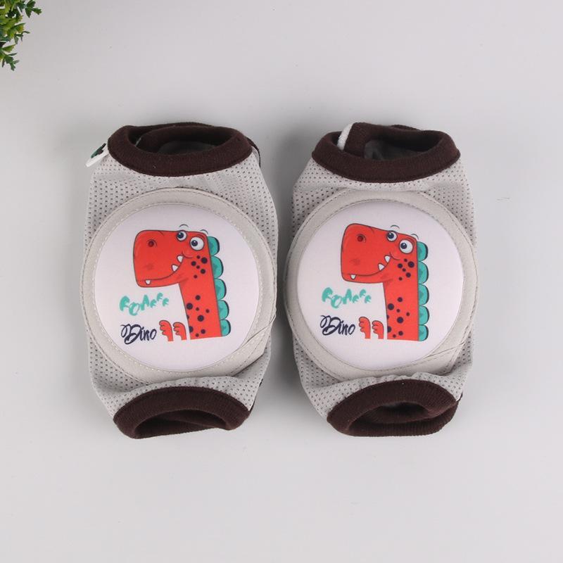 Crianças menino menino rastejando cotovellers bebê joelho almofadas protetor segurança malha kneepad perna aquecedor crianças almofada legging lactentes