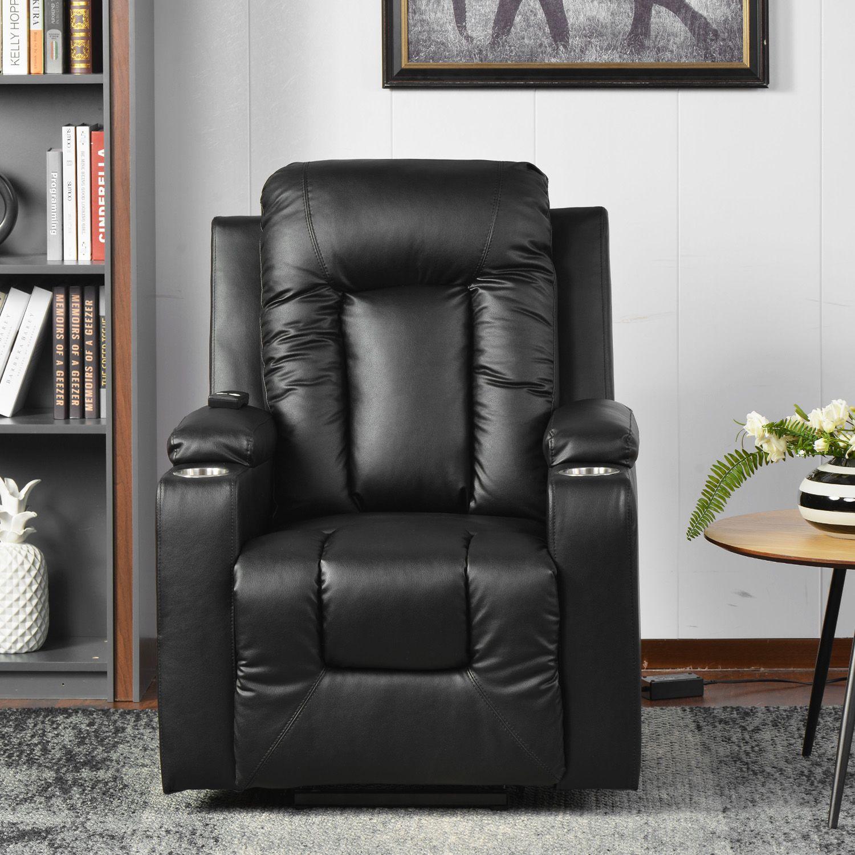 UK Stock Electric Power Lift Fauteuil inclinable Canapé pour Boudoir Faux cuir Salon de massage Personnes âgées Sofa Livraison rapide PP193509AAA