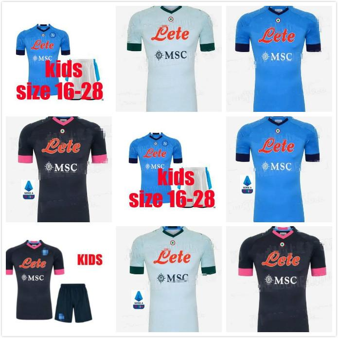 Adulte 20 21 Napoli Soccer Jersey Home 2020 2021 Naples Zielinski Hamsik Insigne Mertens Callejon Player Rog Football Shirts