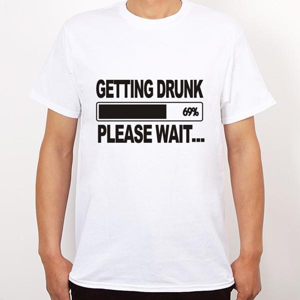 Пьянея Beer Stag Party Gift Смешной Mens T Shirt Больше размера и цвета fz0238
