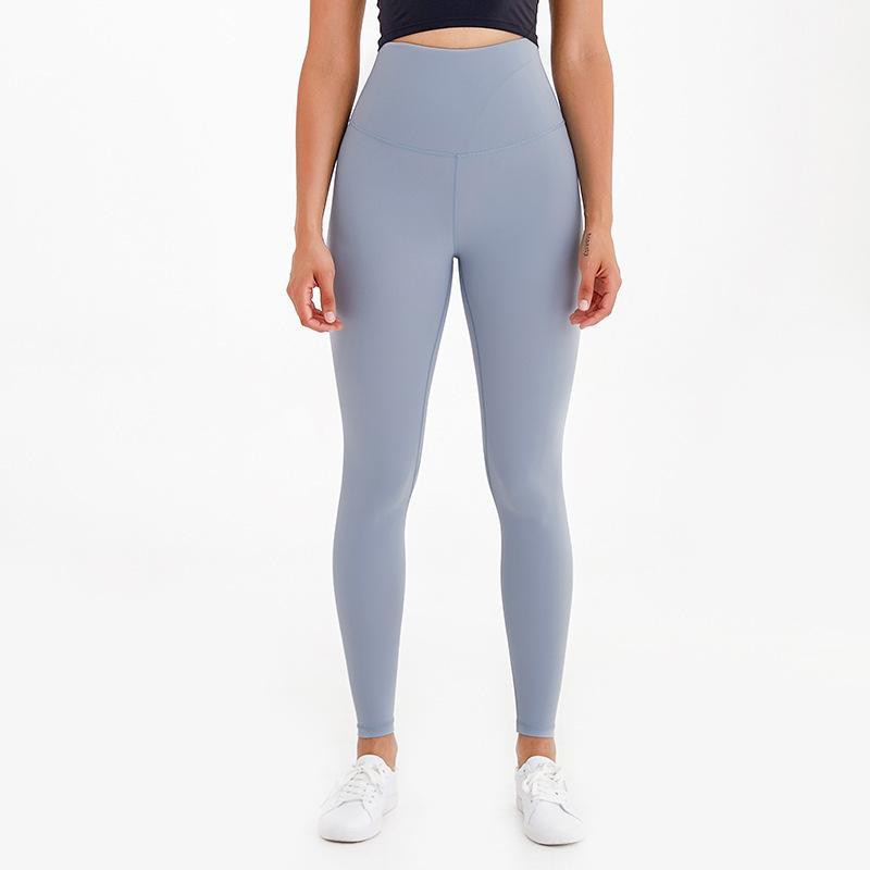سوبر عالية الخصر اليوغا طماق رياضة ملابس النساء كابريس العرق الخلط النظير شعور عارية تشغيل اللياقة البدنية السراويل الجوارب