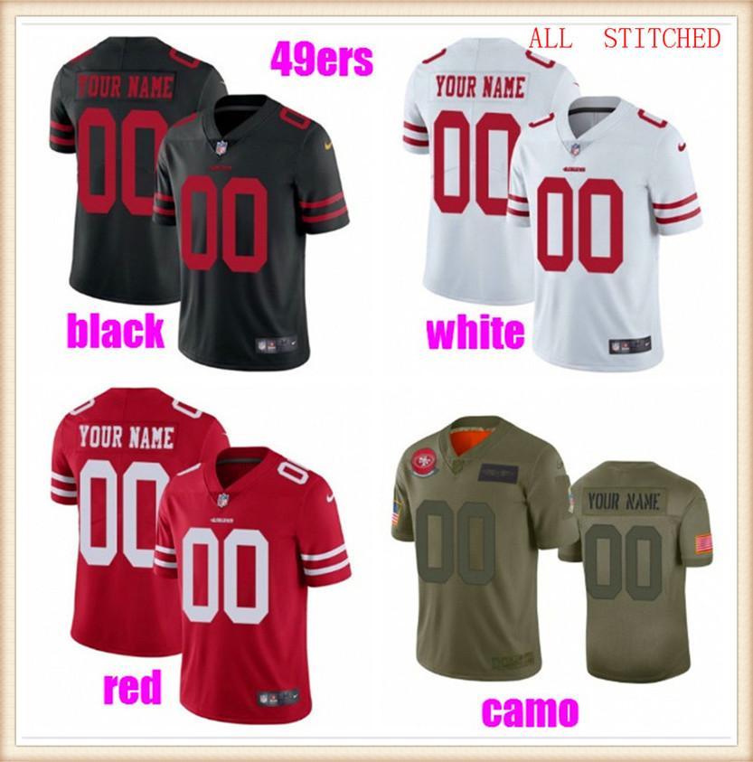 Benutzerdefinierte Herren Womens Jugend American Football Trikots Sport NFC AFC Teams Authentische Fans Dampf Unberührbar 2021 Jersey PALYER 4XL 5XL 6XL