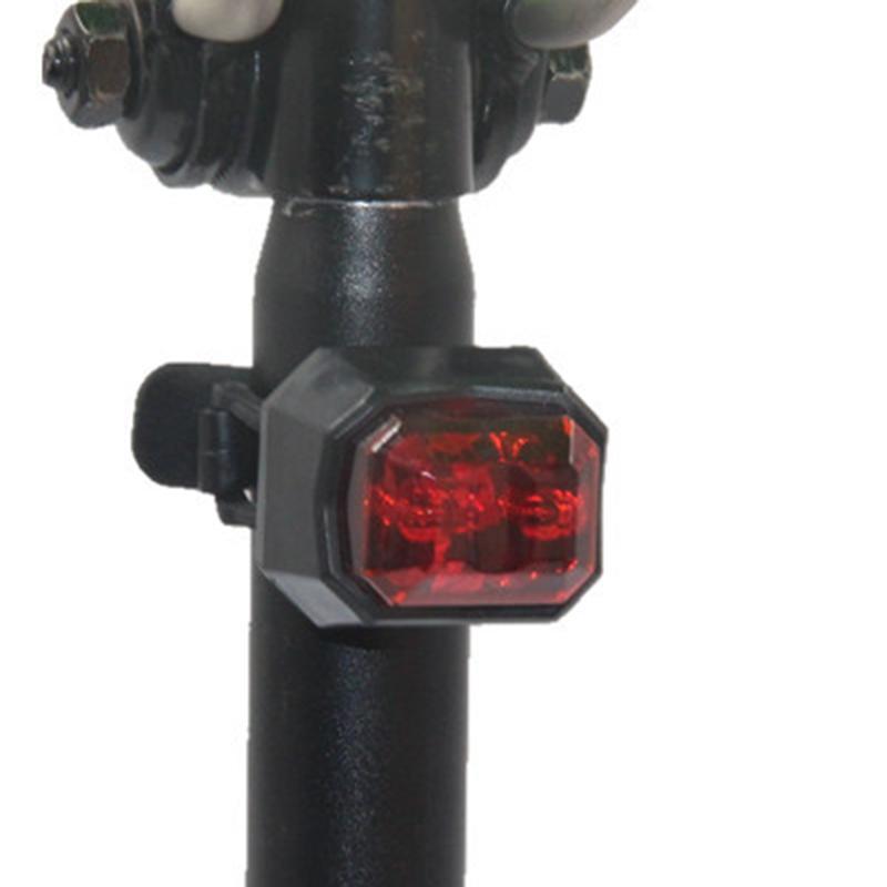 Fahrradrücklicht USB Charge Wasserdichte Fahrrad Warnleuchte Carat Art Fahrrad Rücklicht Fahrradzubehör