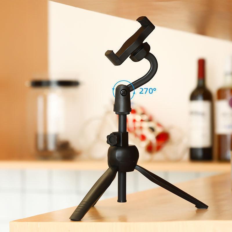 Universal Selfie Stick Live Tripod Monopod Selfie Stand POD Tipe Mount Clip para Smartphone SLR Cámara