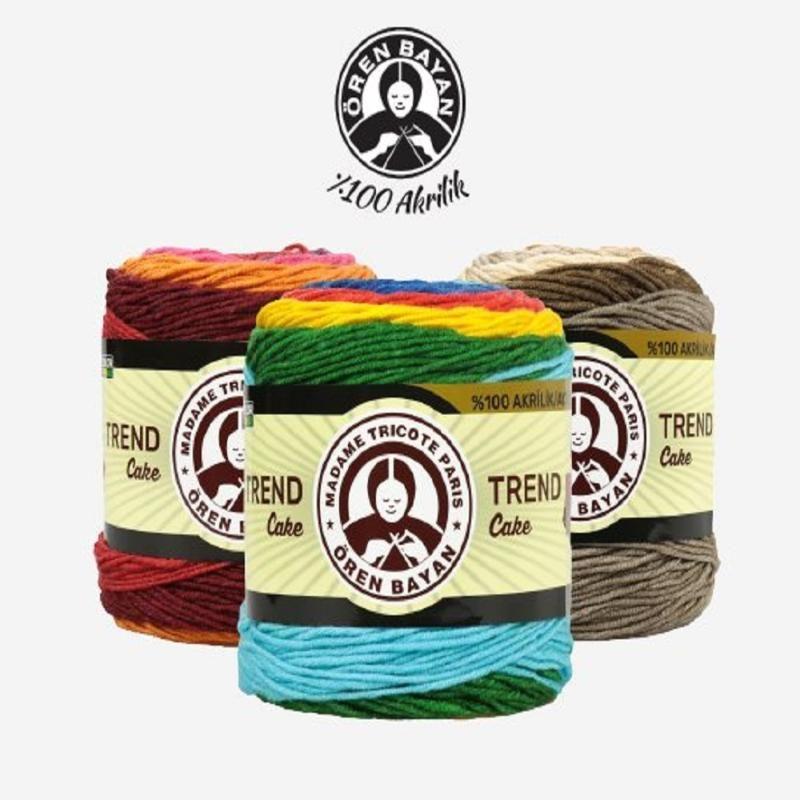 Precut Turquie Rug Making Fil 100/% Laine Brun Doré 160 pieces code 863