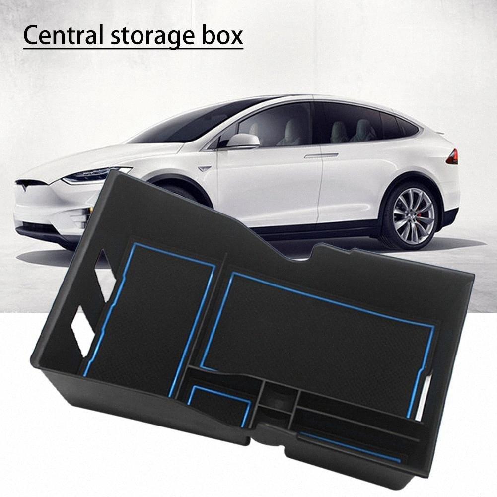 Auto Central Console dell'organizzatore Central Storage Box Per il modello 3 Accessori auto Stivaggio Riordino Center Console Organizzatore 7lqA #