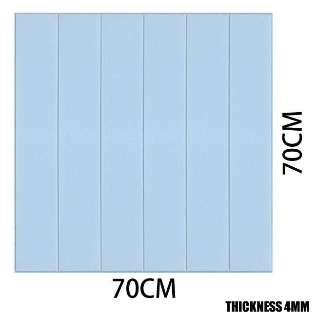 70x70cm papel pintado del pvc a prueba de agua pegatinas de pared autoadhesiva del papel pintado 3D etiquetas engomadas de la pared de ladrillo de espuma PE impermeable auto adhesivo Wallpaper022