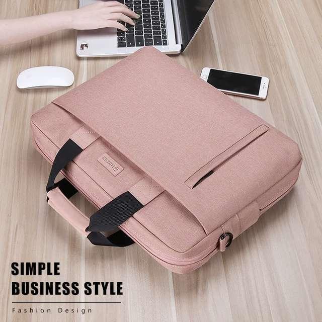 13 Tasche Handtasche Inch 13.3 14 15 für Frau Laptoptasche 15.6 MacBook Air Pro MAN wasserdicht Computer Schulter Notebook Aktentasche NVEKV