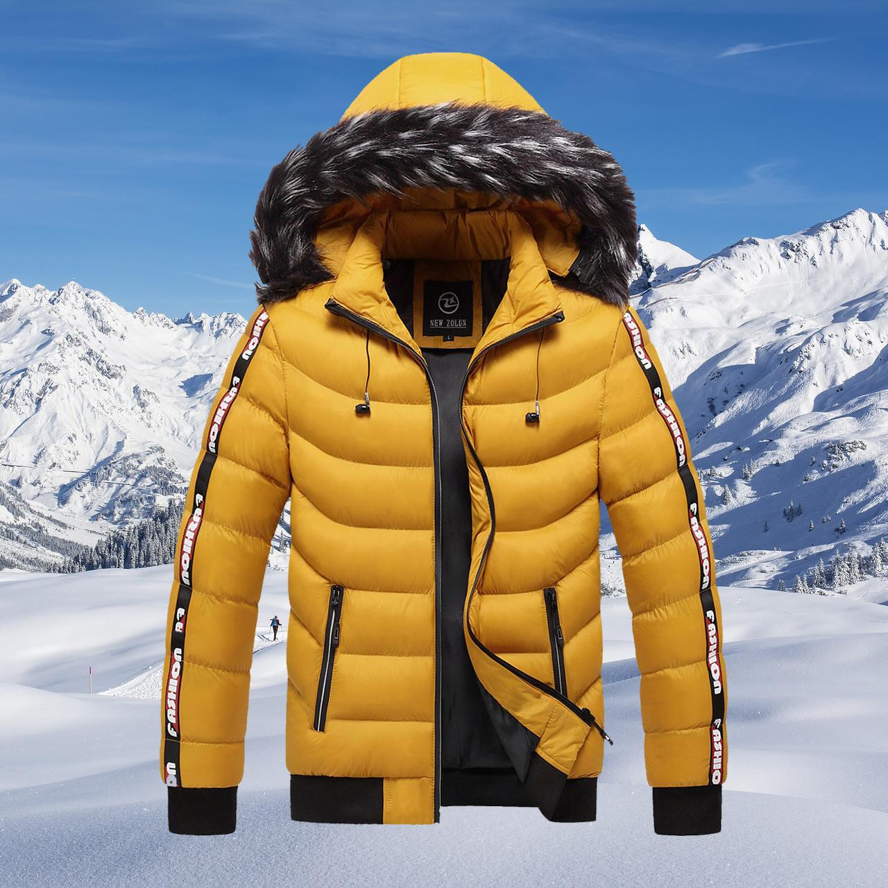 Новый стиль Мужчины пальто зимы ворота шерсти с капюшоном Ветровка Мужской сгущает Теплый Мужчины Верхняя одежда Марка Повседневная Зимняя куртка для мужчин 201109