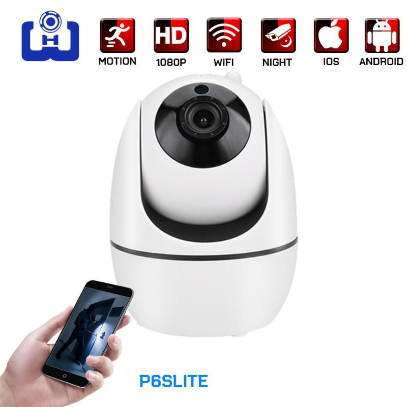 1080P wireless PTZ home security camera HD infrared night vision human tracking WIFI camera phone remote viewing voice intercom