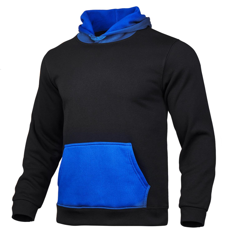 мужчин и 2020 женщин свитер модный бренд карман соответствия цвета Толстовка с длинным рукавом пуловер рекламы Hoodie