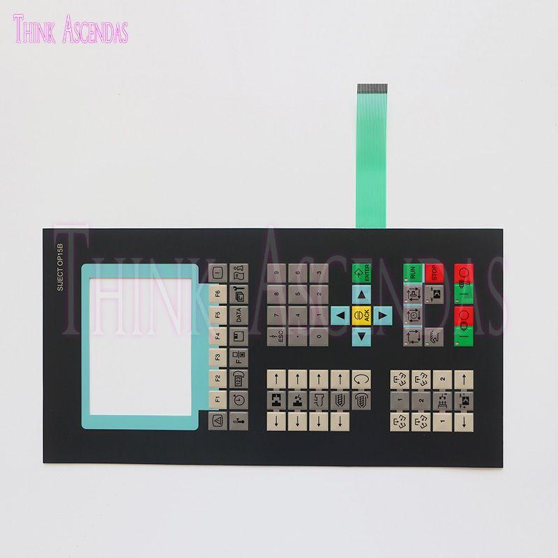 Brandneue hochwertige SIJECE OP15B 6AT1131-5BC20-0XB0 Button Panel-Tastatur