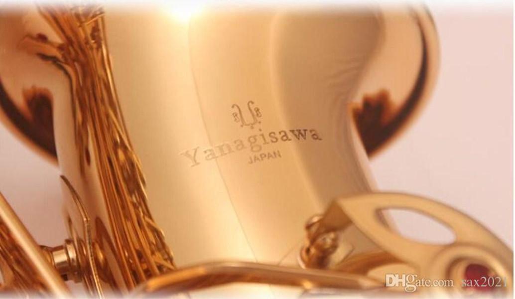 Японские Янагисава A-992 New Alto Saxophone E Flat высокого качества Alto Saxophone Super Professional Musical Instruments Gigt бесплатно