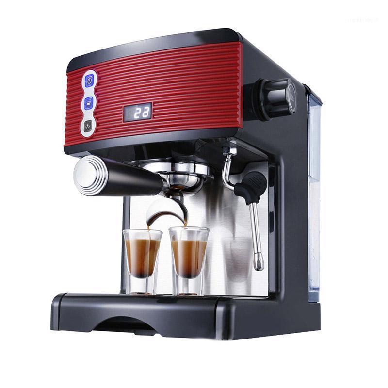 Kaffeemaschinen Maker Maschine Haushalt Espresso Kleine vollautomatische Dampfmilch Dämpfende Bohnen Mühle für Home1