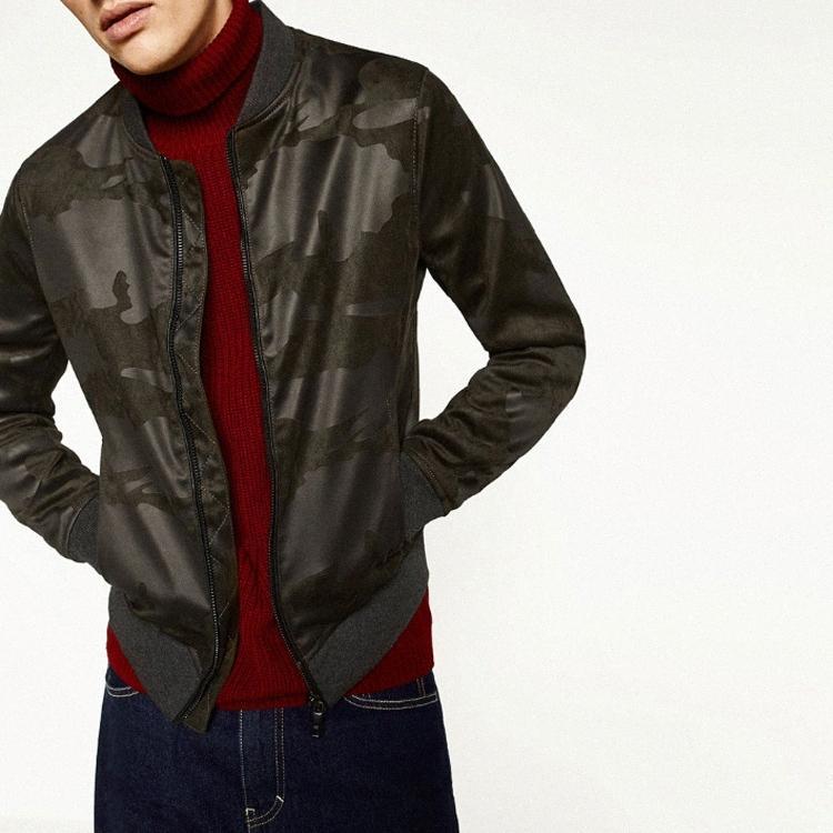 de homens camurça camuflagem casaco jaqueta cingida #