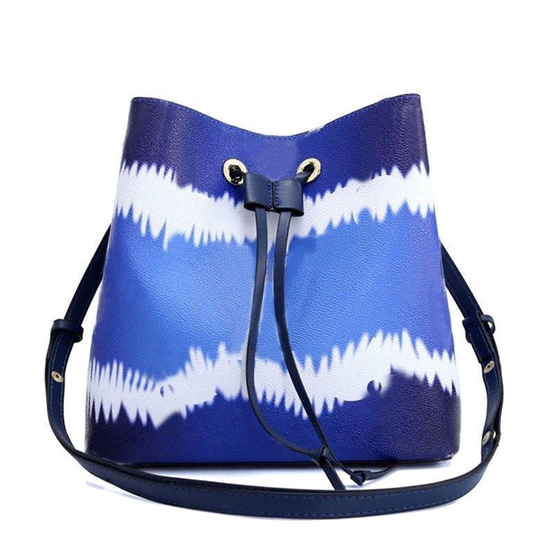 HH High quality Luxury designer bag women leather handbag women's Bucket Bag Drawstring fashion shoulder bags casual wallet bag tote bags