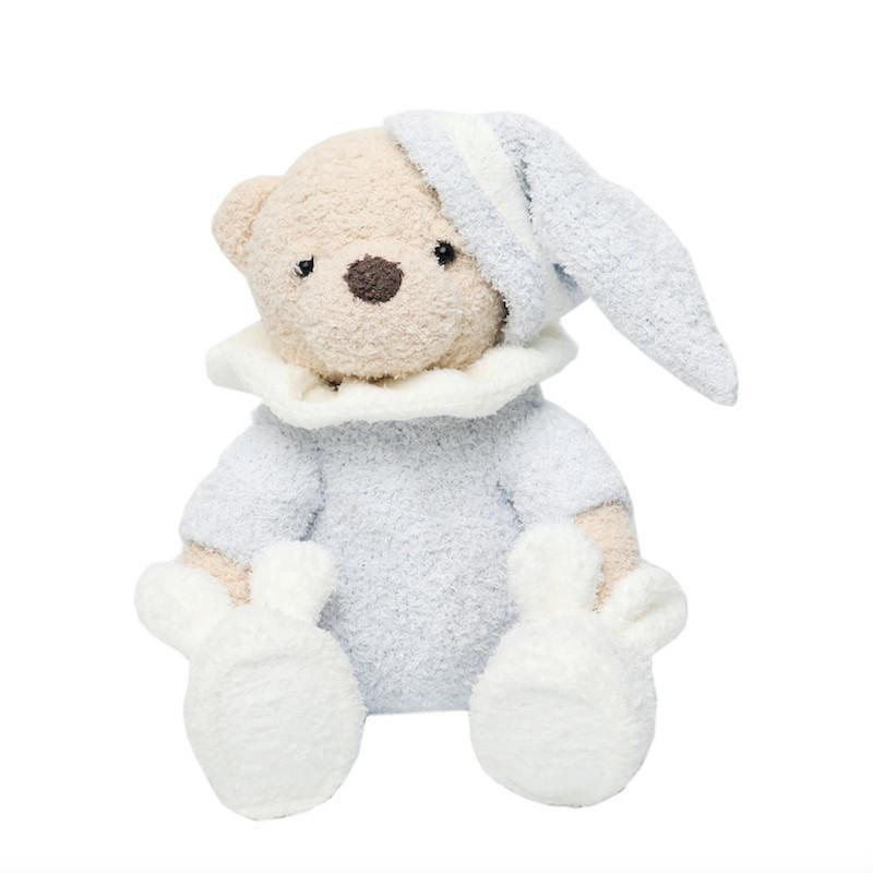 Fabbrica peluche pigiama dirette poco gioco bambola orso vestiti creativa dell'orso del fumetto mano bambola all'ingrosso su misura