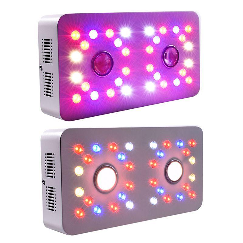 Double commutateur DIMMABLE CULLUMABLE Lampe AC100-265V 1000W COB Spectre complet LED Cultiver des lumières pour les plantes de tente de culture à l'intérieur