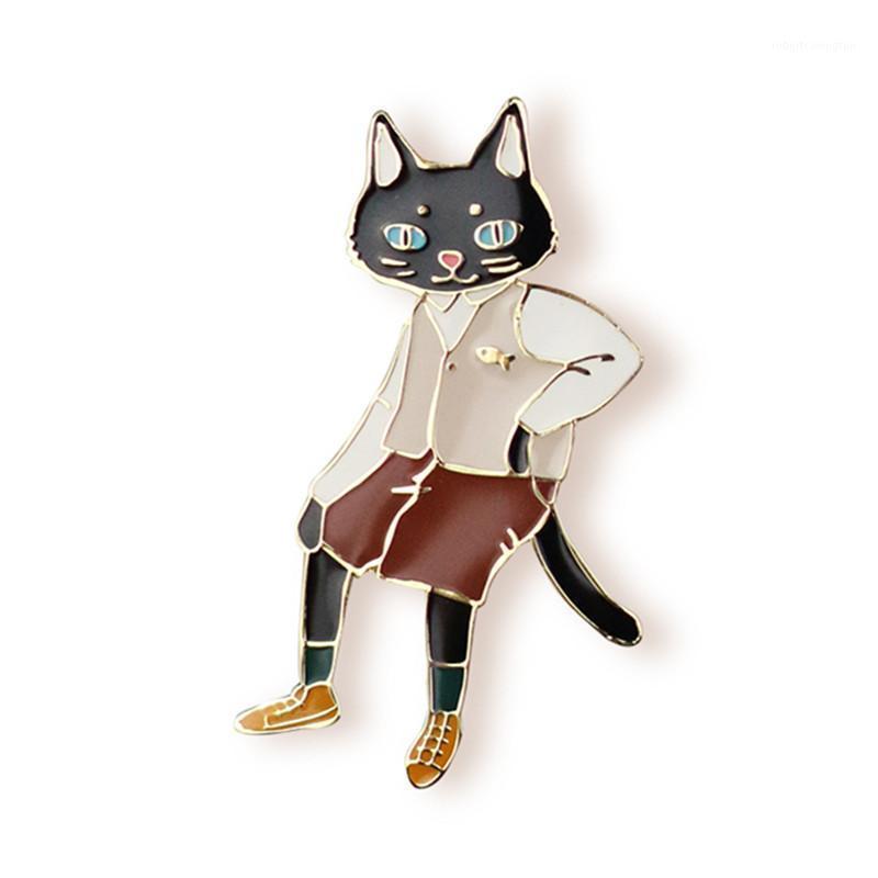 Pins, broches por atacado- moda mulheres jóias por atacado gato elegante mr. brocha1