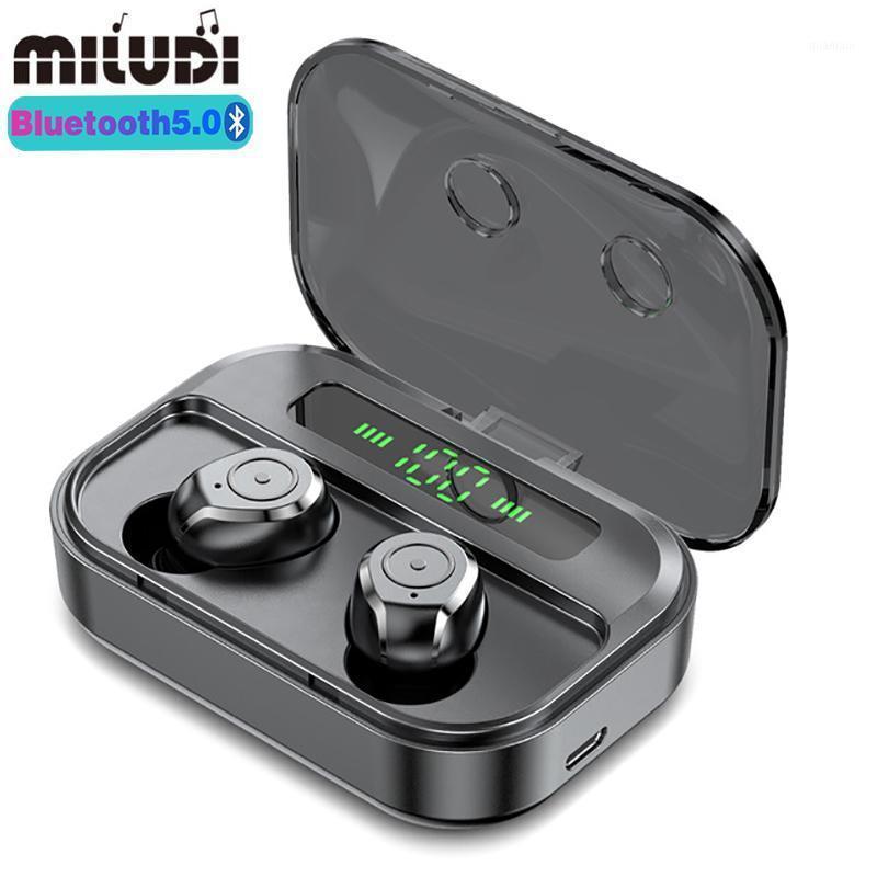 M7S TWS Bluetooth-Ohrhörer-Ohrhörer Wireless Sport Ohrhörer HD-Stereo-Geräuschreduzierung Musik-Gaming-Kopfhörer für Huawei1