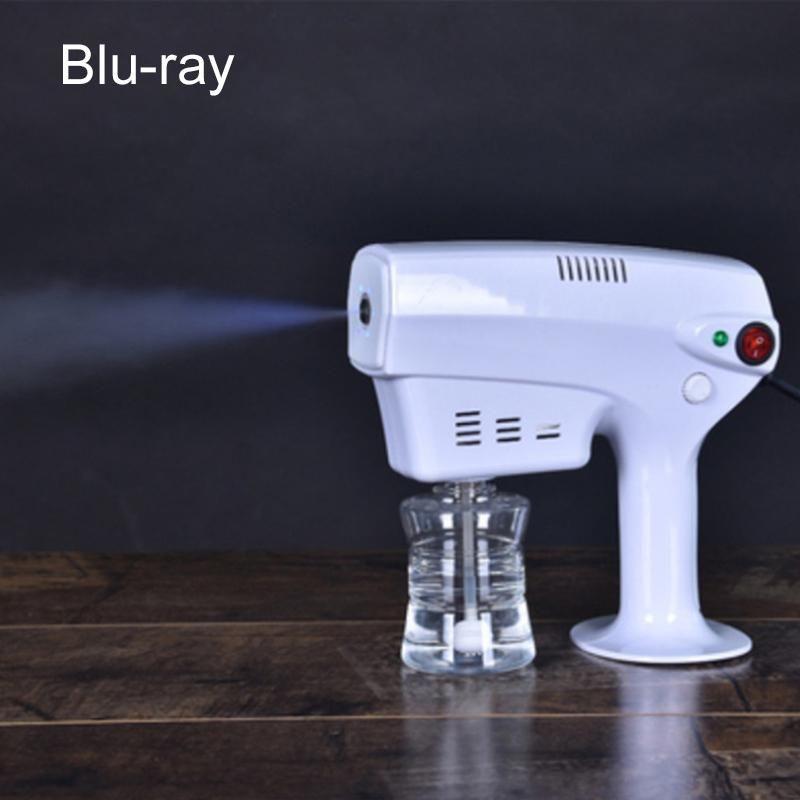 Ручной беспроводной электрический нано атомизации дезинфекции пистолет-распылитель 250мл синий луч мощный дезинфицирующее спрей машина Бесплатная доставка DHL FS9000