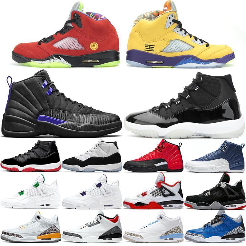 11 12 13 4 Männer Basketball-Schuhe Chaussures Schwarz Gelb Rot Hyper Königs Candy Cane Designer Trainer Männer Sport-Turnschuhe Größe 41-47