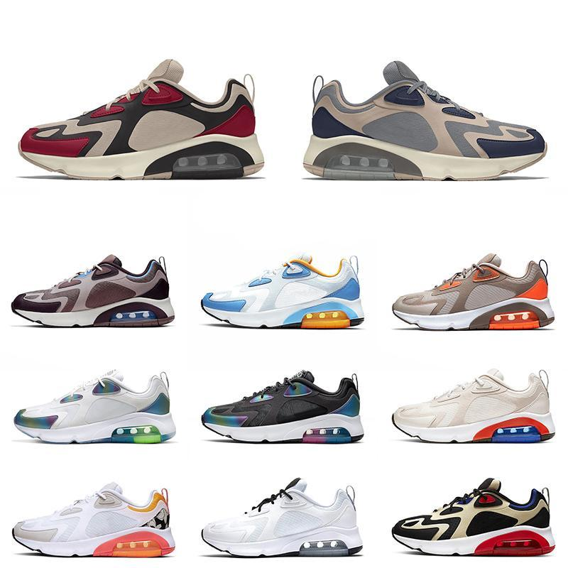 2020 Top Teal Bordeaux 200 Tennis Running Sport Chaussures BLANCHE METALLIQUE GOLD VOLT UNIVERS UNIVERSION VENTIEUR BLUE ROUGE TRAINGEUR MYSTICS Coussins Sport 36-45