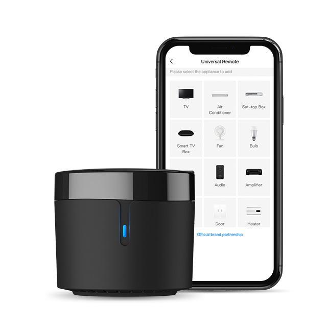 Broadlink RM4 mini-RM4 inteligente Universal Remote para Smart Home Automation trabalha com Alexa e Google Início