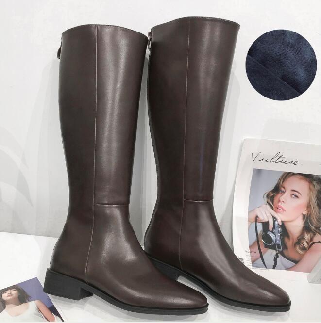Элегантные зимние бренды женщины красные нижние сапоги Eloise Botta Bottes Knee Boots High каблуки Lady Combat Party Party, Wedding EU35-39