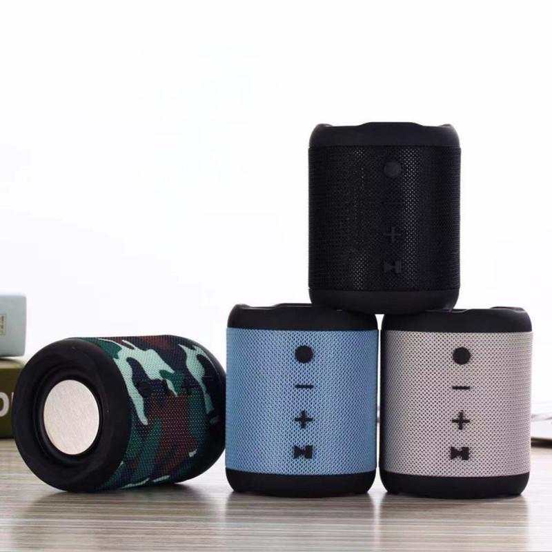 M2 Bluetooth inalámbrico pequeña de acero de audio cañón bajo pesado mini portátil con tarjeta de regalo cordón altavoz del bluetooth USB