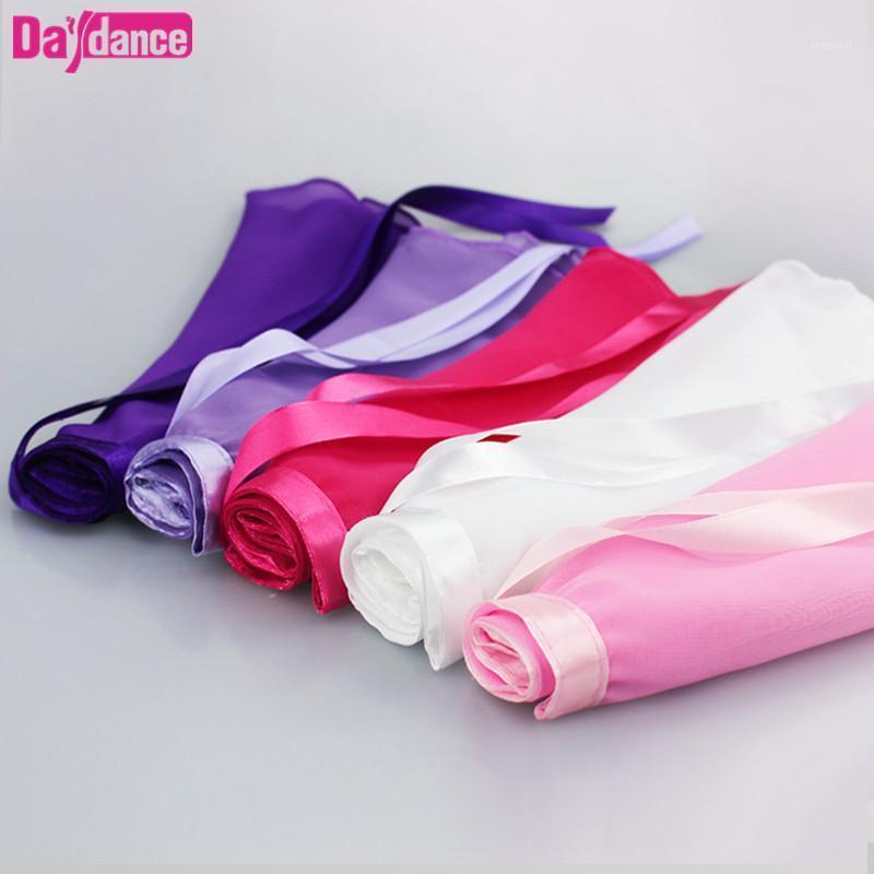 Stage Wear Girls Ballet Wrap Skirts Transparent Dance Skirt Kids Class Practice Leotards 9 Colors1