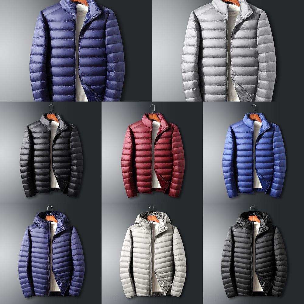 L9SR 2020 Colore Giacche di caramella invernale in giù per con cappuccio autunno riscaldamento cappotti per 2-9 anni abiti tuta sportiva