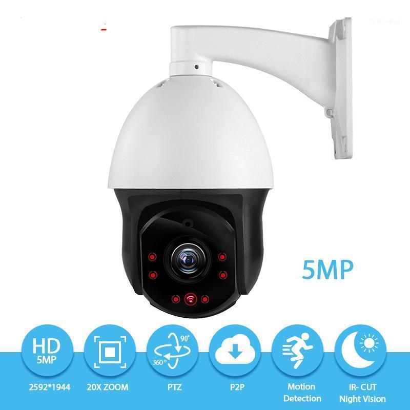 Auto-Tracking-IP-PTZ-Kamera 5.0mp IP66 H.265 30x Zoom High-Speed-Kuppel-POE-Normalität WLAN-Kamera 360 ° P2P ONVIF-Sicherheit CCTV CAM1