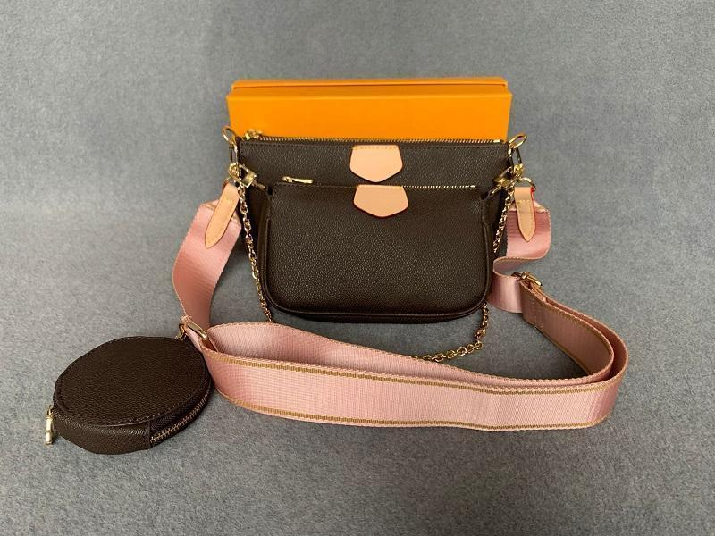 Nuove borse a tracolla Borsa da donna Borsa a tracolla Brands Brand Designer borse di design di alta qualità Borsa da stampa a fiori di alta qualità 9.45x6.30x2.36 pollici