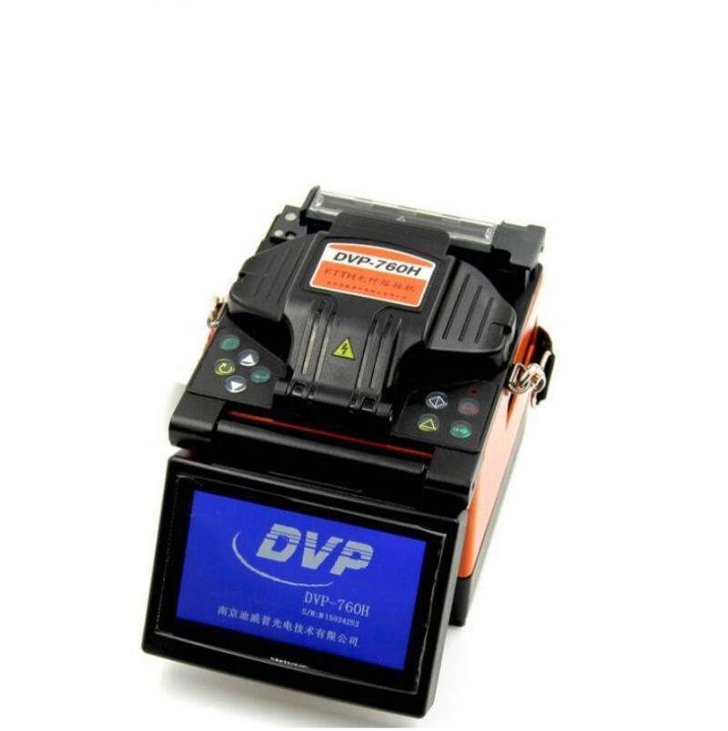 광섬유 장비 DVP760 FTTH SPLICING 기계 퓨전 스플리케이터 디지털 CLAVER 스트리퍼 포함