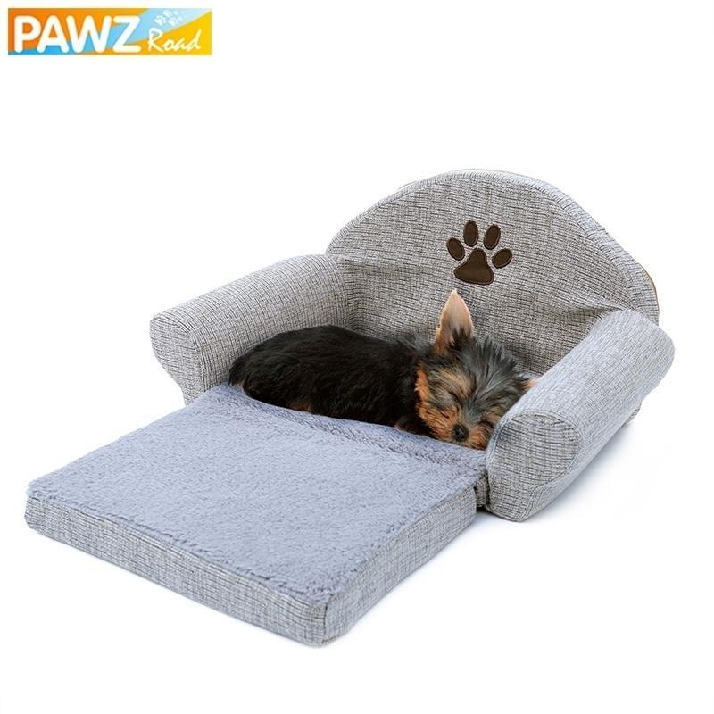 Sofá macio removível canil canil design cão cão gato lavável almofada tapete para animais de cama animais animais de estimação 20115