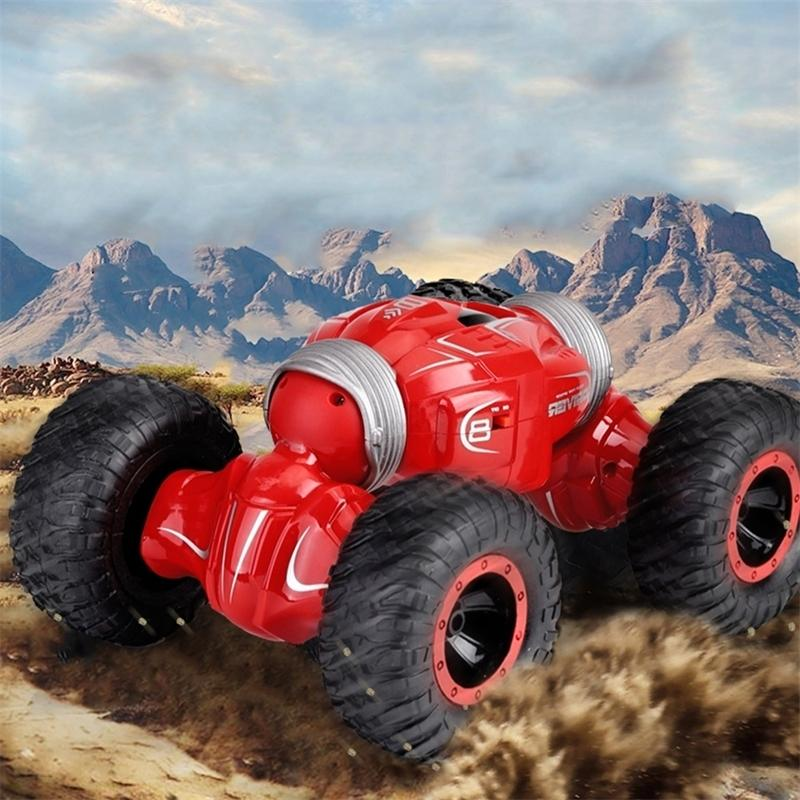 JJRC Q70 RC حيلة سيارة مزدوجة الوجهين محرك الراديو التحكم 4wd الصحراء السيارات قبالة الطريق عربات التي تجرها الدواب اللعب عالية السرعة تسلق rc سيارة الاطفال هدايا Y200413