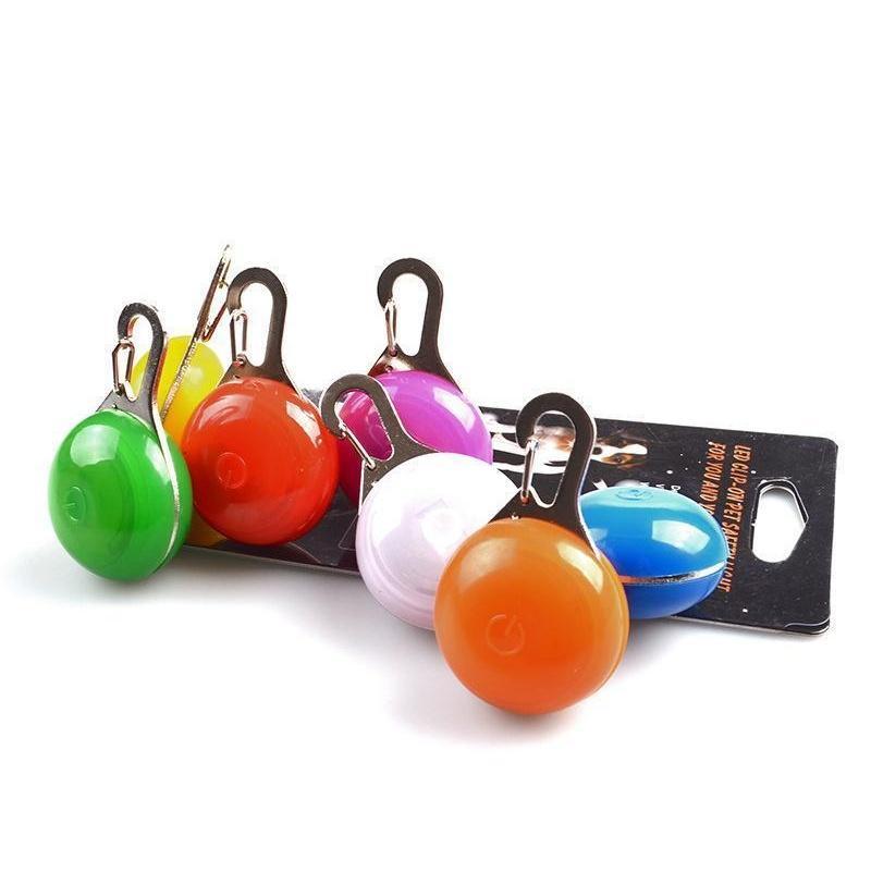 Multi Colors Led Dog Pet Pendant Colorful Light Flashing Luminous Collar Pendant Pet Supplies Glow Safety Tag Xmas jllgeY bdebag