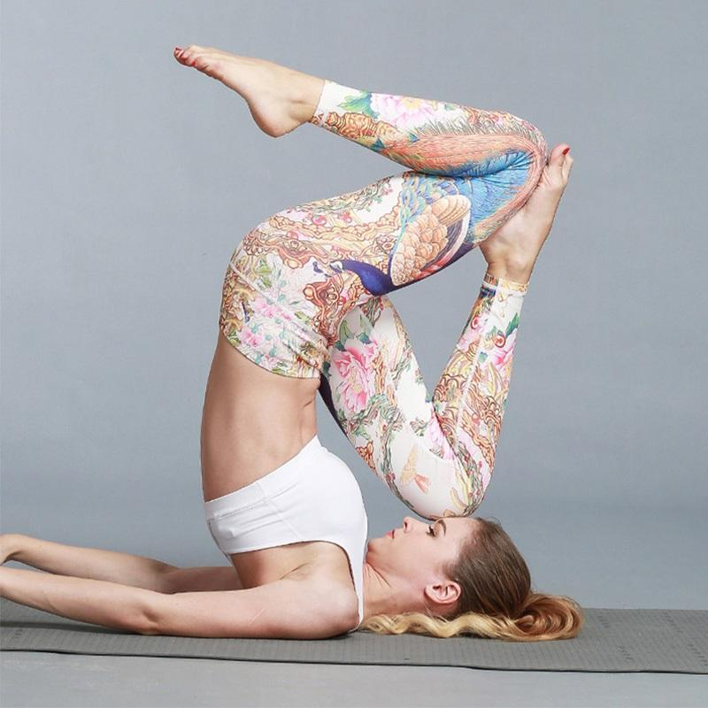 Cloud Hide Calças de Yoga Long Sports Leggings Mulheres Fitness Calças de Fitness Girls Cintura alta Running Workout Calças Plus Size Tummy Control
