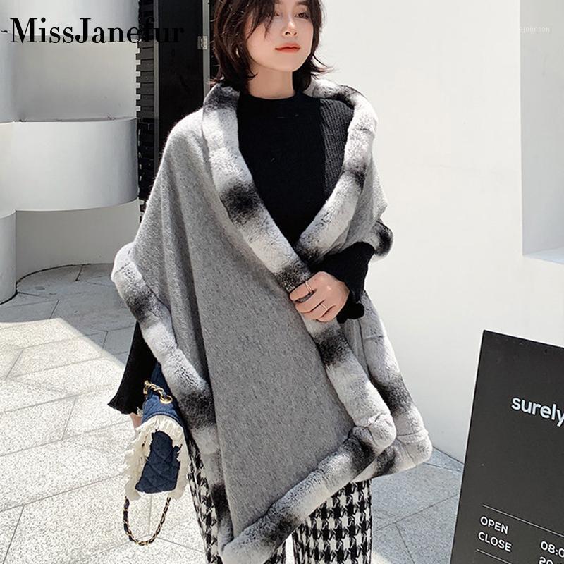 Женщины зимний теплый плюшевый шарф ангора шарфы меховые утолщения женские фальшивые воротника шеи