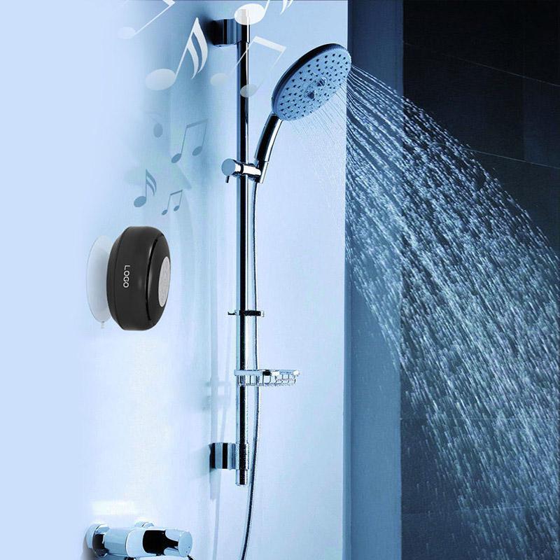 Tragbare Bluetooth-Lautsprecher Freihändige TF-Karte wasserdichte drahtlose Lautsprecher, Badezimmer Dusche Subwoofer Musik-Lautsprecher Heißer Verkauf